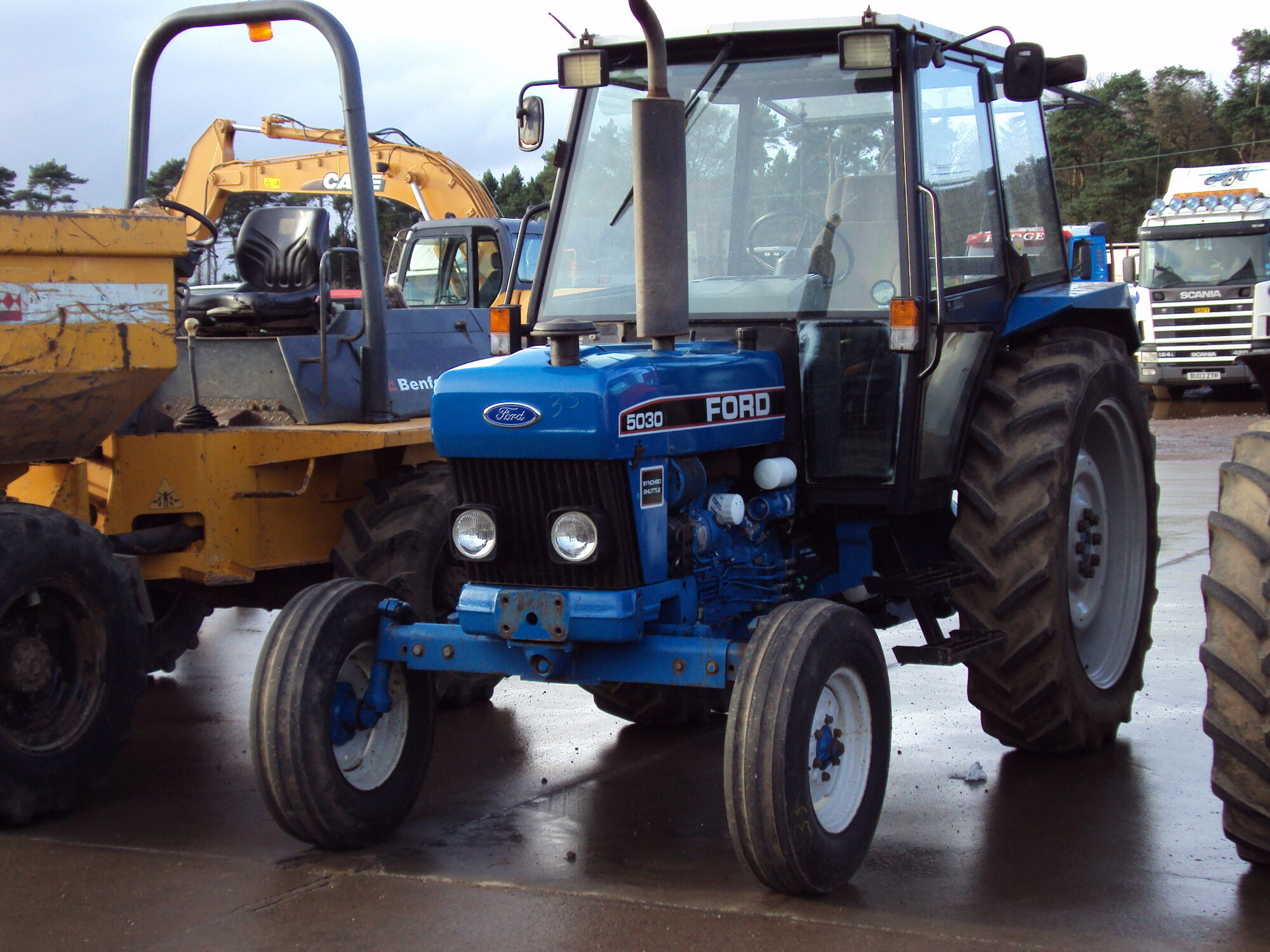 Ford 5030 Tractor Construction Plant Wiki Fandom Powered By Wikia 8n Cooling System