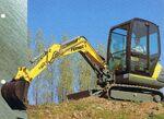 Fermec 128 excavator