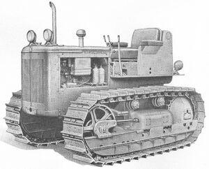 International TD-9 Series 91 1956