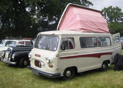 Morris J4 based Dormobile reg 1965