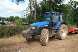 New Holland TM150 tractor at Much Marcle 2014 - IMG 1009