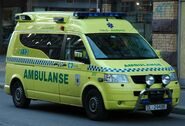Oslo Akershus VW Ambulanse in new colors - 2007.04.03