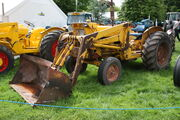 Steelfab SF122 loader on Ford - CSH 859L at Newby HallIMG 8490