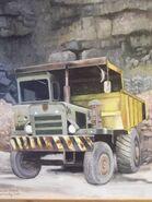 A 1960s Aveling Barford SL340 Dumptruck Diesel