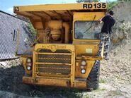 A 1970s Aveling Barford RD135 Dumptruck