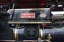 Fowler no.15653 Renown - John Murphy owners plate - IMG 8411