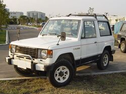 Mitsubishi Pajero | Tractor & Construction Plant Wiki | FANDOM