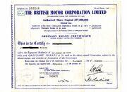 Scripophily BMC 1959