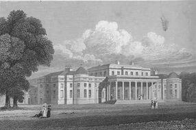 Shugborough Hall Jones' Views 1829
