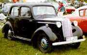 Vauxhall Ten Saloon 1938