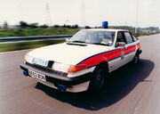 West Midlands Police Rover SD 1 Traffic Car c.1985