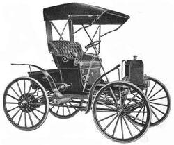 1909 Schacht Auto Runabout Model K