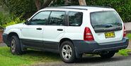 2002-2005 Subaru Forester X wagon (2011-04-02)