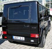Brabus G V12 Biturbo rear
