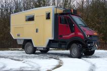 Bremach Trex camper