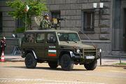 Bulgarian army Mercedes G-Class