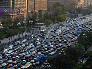 Changan avenue in Beijing