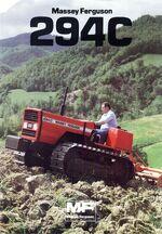 MF 294C crawler brochure (Landini)