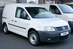 VW Caddy front 20080126