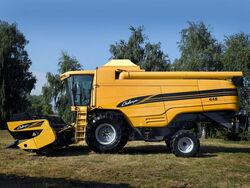 Challenger 648 combine