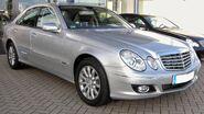 Mercedes E200K Elegance Facelift front