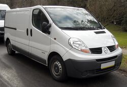 Renault Trafic II front 20080120