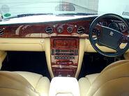 Rr silver seraph interior