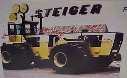 Steiger Panther Twin ST650 - 1977