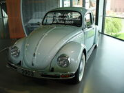 Volkswagen Bubbla sista bilen