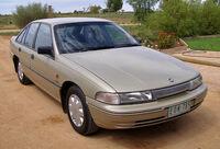 Bronze sedan automobile