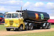 A 1970s Scammell Trunker Haulage Tractor with Fueltrailer