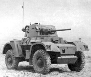 Daimler Armoured Car Mark 2
