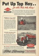 Dearborn mower & rake ad
