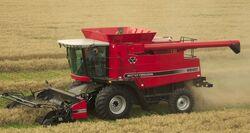MF 9690 combine - 2007