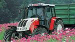 Steyr 9085 MT MFWD - 2008
