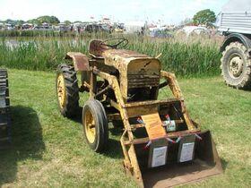 1950s Winget 42 Diesel Loader Tractor