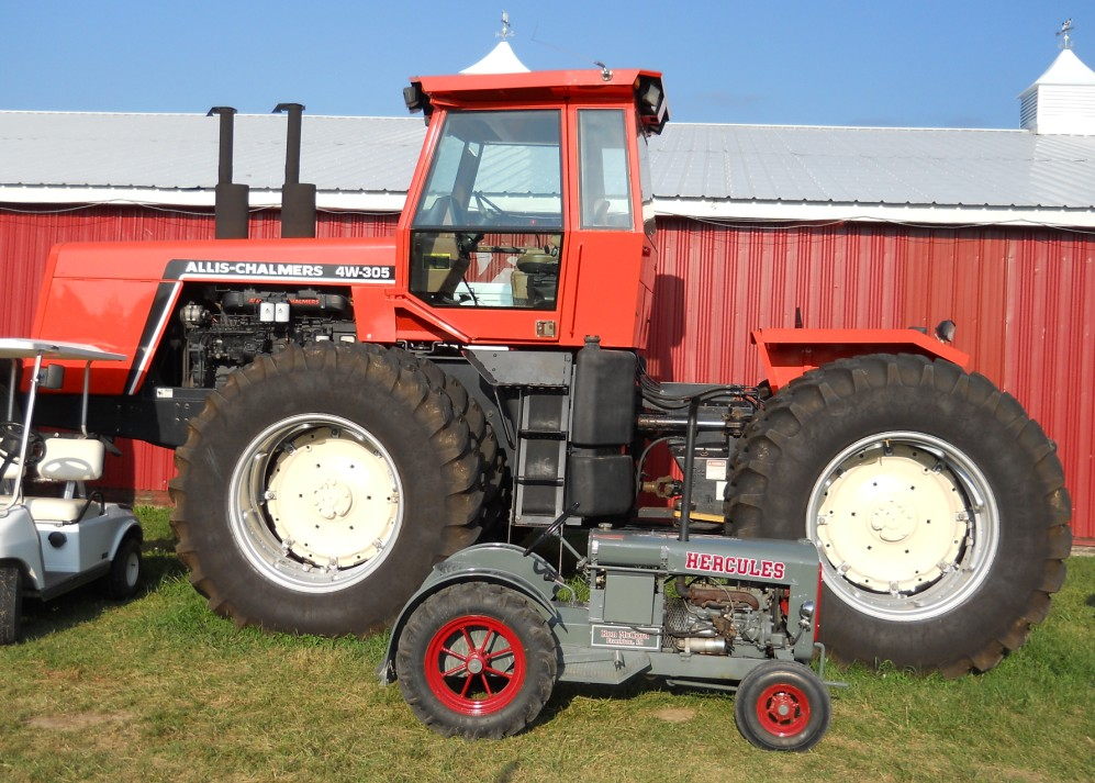 Allis-Chalmers 4W-305 | Tractor & Construction Plant Wiki