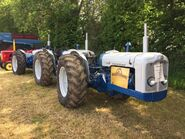 A 1960s DOE-Fordson Triple Tractor