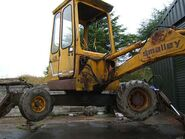 A 1980s Smalley 425 Minidigger