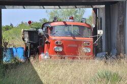 AmericanLaFrance Fire engine