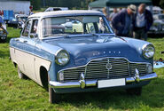 Ford Zephyr 206E front