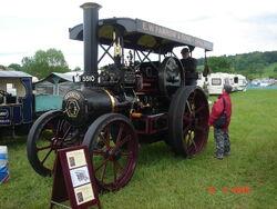 Garrett tractor BJ5510