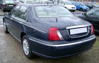 Rover 75 rear 20080315