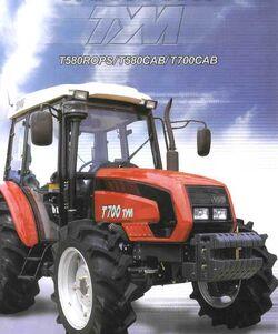 TYM T700 MFWD w cab - 2003