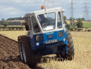 County 1004 - KJO 343G - Ploughing