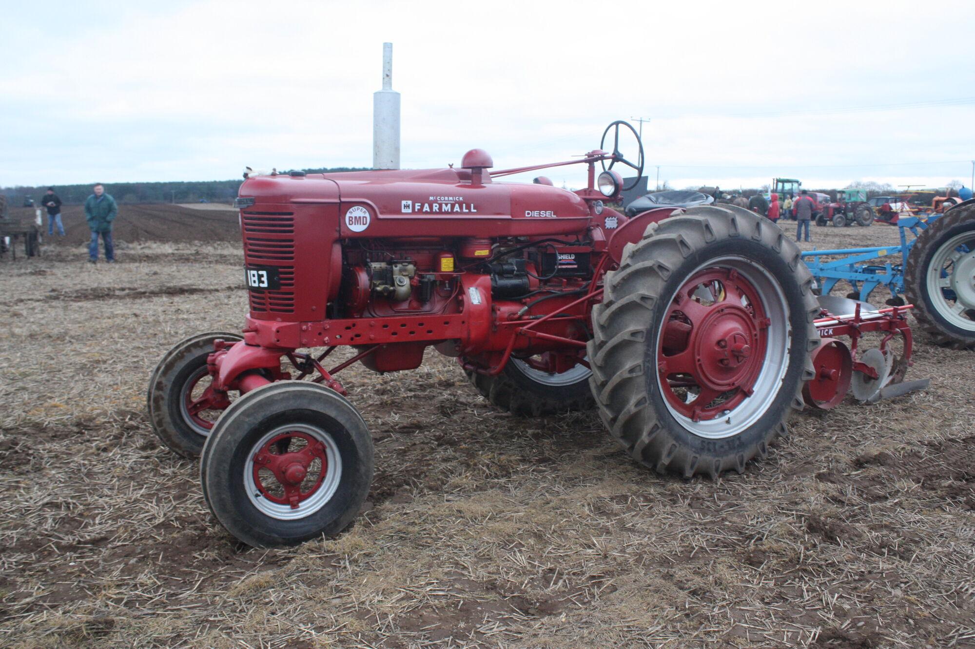 Farmall Super BMD   Tractor & Construction Plant Wiki