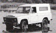 PORTARO 260DCM 4X4 2500 Diesel de 1983