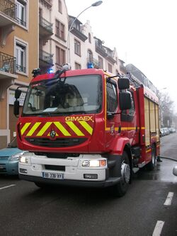 Pompiers Strasbourg - Renault Midlum-3