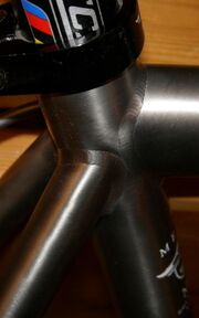 Titanium welds