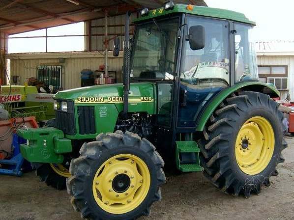 Kukje JD 5320 | Tractor & Construction Plant Wiki | FANDOM